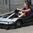 Go Cart Girl - Stock Photo