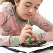 Student Doing Homework — Foto Stock