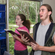 Singing Hymns In Church 1 — Stock Photo