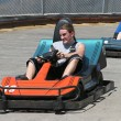 Teens At The Track — Stock Photo