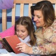 Stock Photo: Bedtime Stories