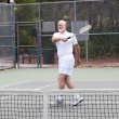 Stock Photo: Active Senior Man - Tennis