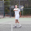 Active Senior Man - Tennis — Stock Photo