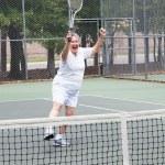 Tennis Player - Winning — Stock Photo #7322167