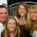 Happy Family At Home — Stock Photo