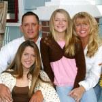 Happy Family Home — Stock Photo