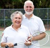 Portrait of Active Seniors — Stock Photo