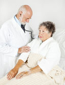 Thorough Medical Examination — Stock Photo