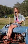 Farmer's Daughter 2 — Stock Photo