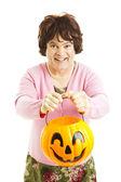 Halloween Cross-dresser — Stock Photo