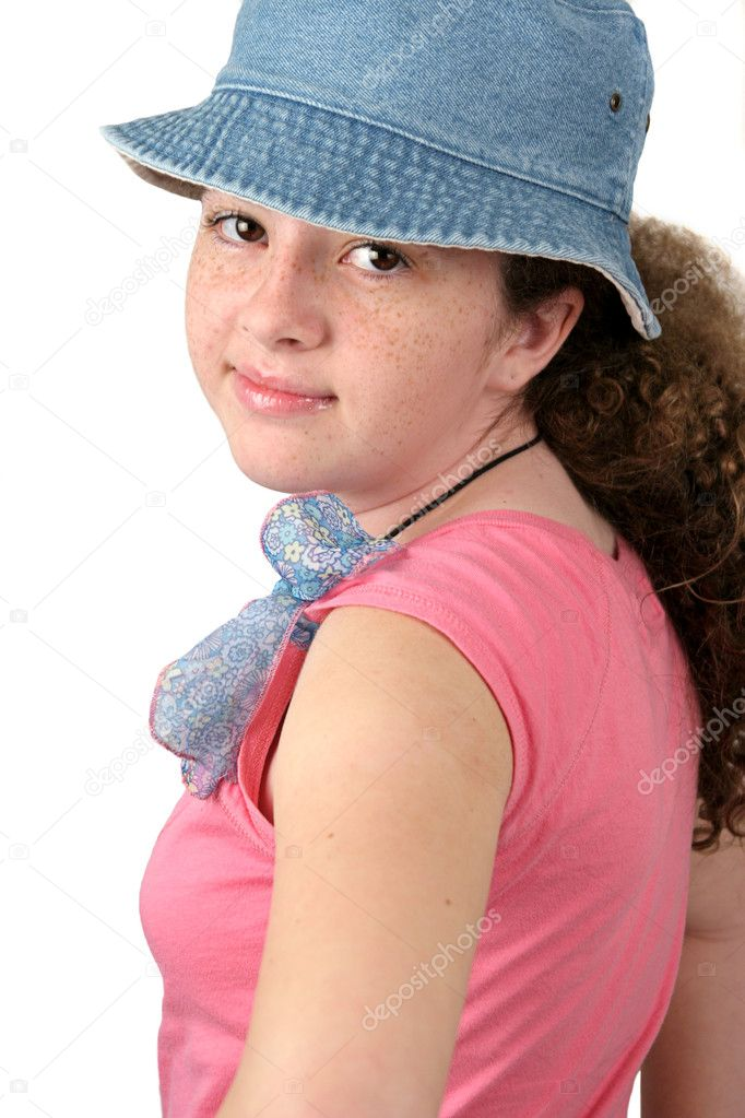 Sweet teen girl stock photo lisafx 7321774 - Fresh teen girls ...