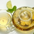 Green tea composition — Stock Photo #6754821