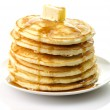 Pancakes with butter — Stock Photo #6755372