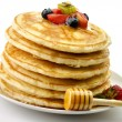 Stock Photo: Stack of pancakes