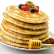 Royalty-Free Stock Photo: Stack of pancakes