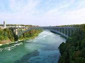 彩虹桥-尼亚加拉大瀑布,美国 — 图库照片