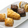 Royalty-Free Stock Photo: Fresh baklava assortment
