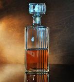 Whiskey decanter — Stock Photo
