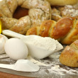 Fresh homemade bread assortment — Stock Photo #6783283