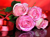 Pink roses — Φωτογραφία Αρχείου