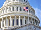 Capitol Hill Building . Washington DC. — Stock Photo