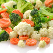 Frozen vegetables — Stock Photo #6791438