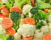 Mrożone warzywa — Zdjęcie stockowe