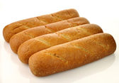 Whole wheat loaf of bread — Stock Photo