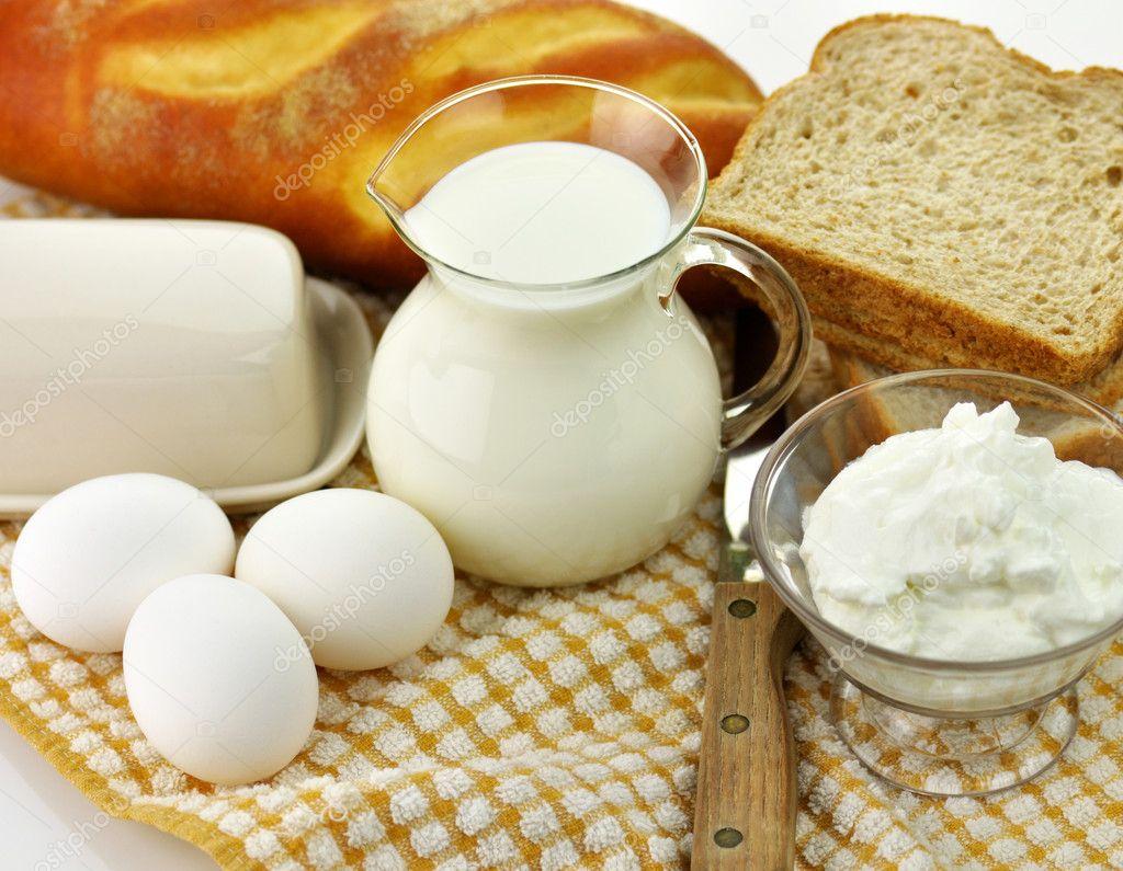 Dairy products — stock photo svetas