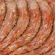 Pepper salami — Stock Photo