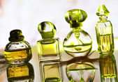 Perfume assortment — Stock Photo