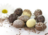 Chocolate eggs — Foto Stock