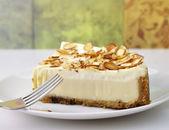Cheesecake slices — Stock Photo