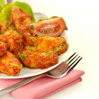 Buffalo chicken wing — Stock Photo