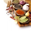 Spices Assortment — Stock Photo #7161302