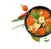 Healthy Soup Bowl — Stockfoto