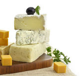 Cheese Assorted — Stock Photo