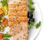 Grilled Salmon Fillet — Fotografia Stock