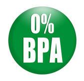 Anti-bisphénol A (Bpa) signer logo — Photo