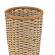 Wicker basket isolated on white background - Foto de Stock