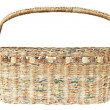Basket made from newspaper — Stock Photo #7220462