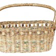 Stock Photo: Basket made from newspaper