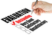 оценки качества обследования — Стоковое фото