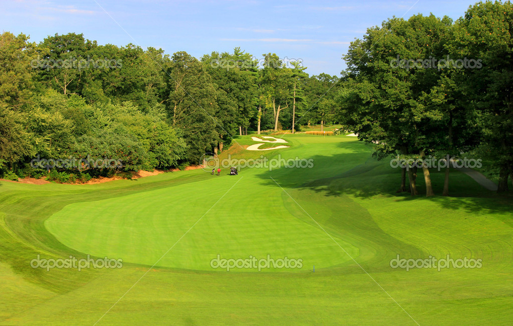 Golf field   Stock Photo #6923334