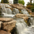 Beautiful waterfall in park — Stock Photo #6960625