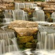 Beautiful waterfall in park — Stock Photo #6960728