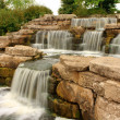 Beautiful waterfall in park — Stock Photo #6960778