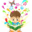 The joy of learning — Stock Vector