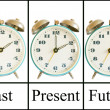 Past Present Future — Foto de Stock