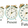 Stock Photo: Past Present Future